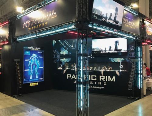 映画「パシフィック・リム:アップライジング」東京コミコン2017ブース ブース管理・ステージ進行管理