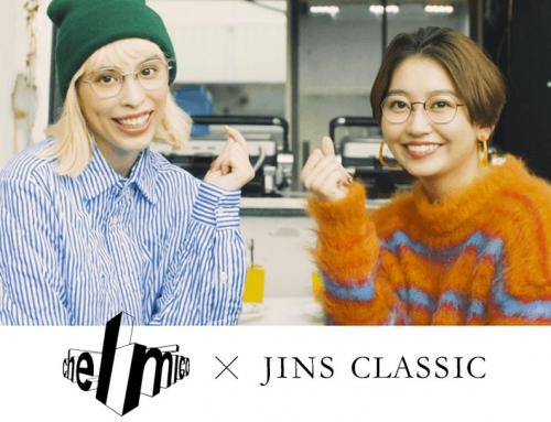 JINS CLASSIC WEB CM制作